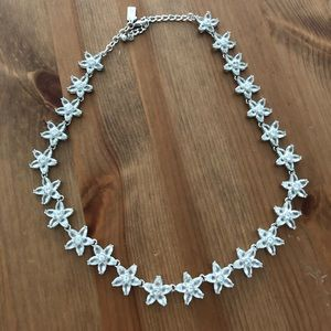 Kate spade crystal star shape necklace